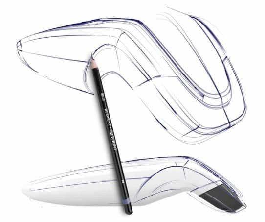 Produkt Design Sketch